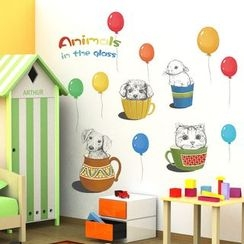 LESIGN - Balloon Wall Stickers