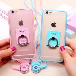 Wince - Silicone Mobile Case with Strap - iPhone 5s