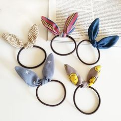 Amedama - Printed Rabbit Ear Hair Tie