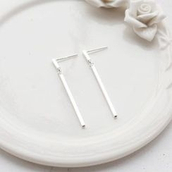 Love Generation - Bar Drop Earrings