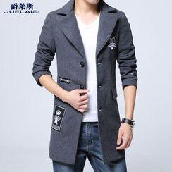 Jazz Boy - Applique Button Coat