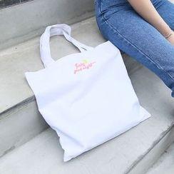 Eastin - Embroidered Shopper Bag