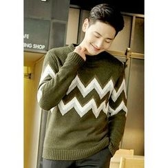 JOGUNSHOP - Patterned Sweater