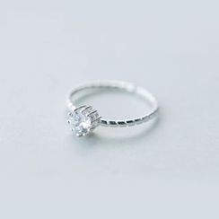 A'ROCH - 925纯银水钻戒指