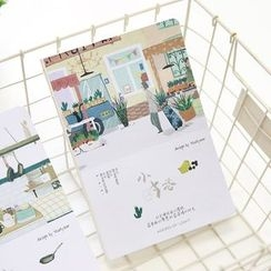 Cute Essentials - Printed Small Notebook