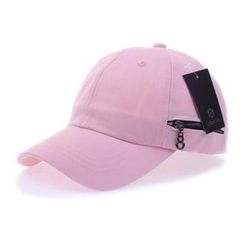 Ohkkage - Zip-Accent Baseball Cap