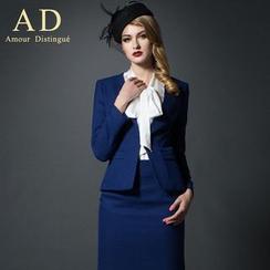 Aision - Short-Sleeve Jacket / Long-Sleeve Jacket / Pants / Skirt / Blouse / Sets