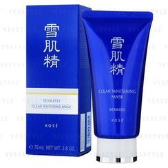 Kose - Medicated Sekkisei Clear Whitening Mask (peel-off type)