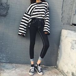 Anlay - Denim Cropped Skinny Jeans