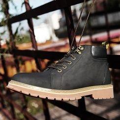 Shino - 系带短靴