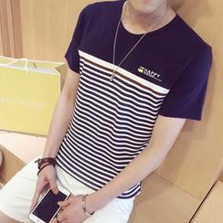 Blueforce - Striped Short Sleeve T-Shirt