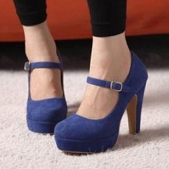 Mancienne - Platform Mary Jane Pumps