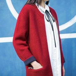 Forest Girl - Zip UP Chunky Cardigan