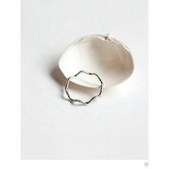 PINKROCKET - Braided Ring