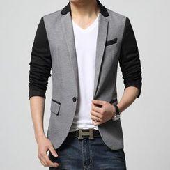 JIBOVILLE - Color-Block Blazer