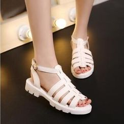 Tomma - Strappy T-Bar Sandals