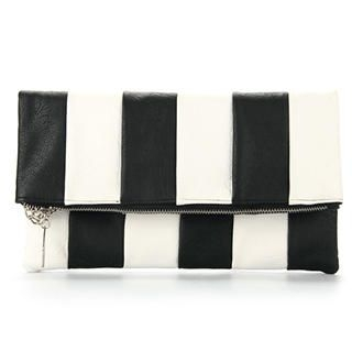 Ethel - Striped Zip Cross Bag