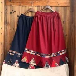 tete - Printed A-Line Skirt
