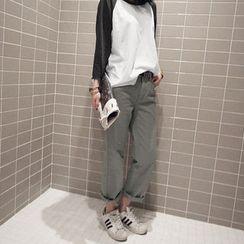 NANING9 - Cotton Chino Pants