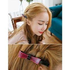 soo n soo - Colored Bow Hair Pin