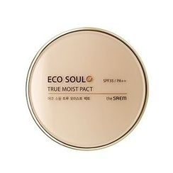 The Saem - Eco Soul True Moisture Pact SPF35 PA++ (#23 Natural Beige)