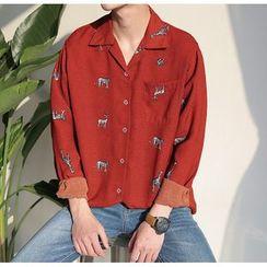 优凡士品 - 印花衬衫