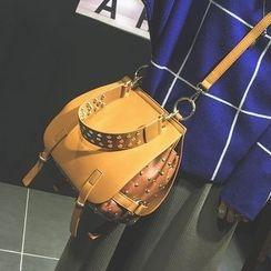 Secret Garden - Studded Shoulder Bag
