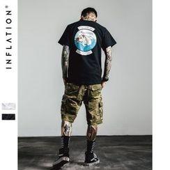 Newin - Printed Short-Sleeve T-shirt