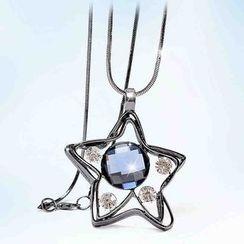 Best Jewellery - Rhinestone Star Pendant Necklace