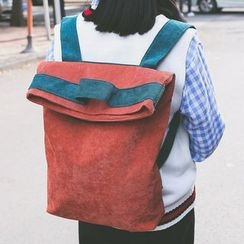 Youme - Contrast Trim Backpack