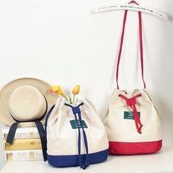 Youme - Color Panel Bucket Bag