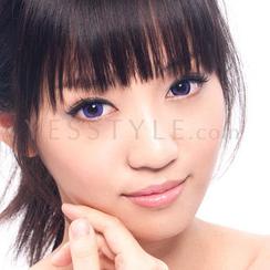 GEO - 彩色隱形眼鏡 XCM-211 (巨目紫) [只提供 P-0.00]