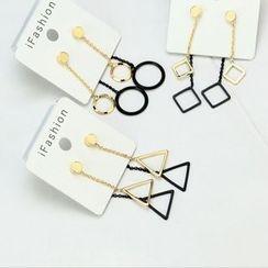 HM - 几何不对称耳环