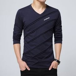 Jazz Boy - 长袖V领T恤