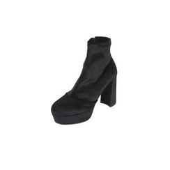 DABAGIRL - Chunky-Heel Platform Ankle Boots