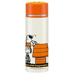 Skater - Snoopy Compact Stainless Mug Bottle