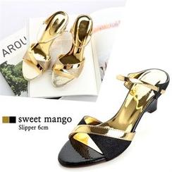 SWEET MANGO - Two-Tone Mules