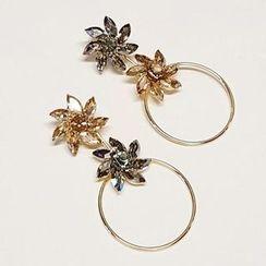 Kulala - Flower Non-Matching Earrings