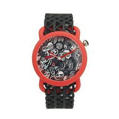 Moment Watches - BE DISENGAGED Time to doodle Strap Watch