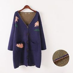Gatz - Patterned Long Cardigan