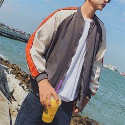 Bloemen - Color Block Zip Jacket