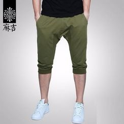 Hey! DUDE - Capri Drawstring Jogger Pants