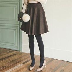 ode' - Zip-Side A-Line Skirt