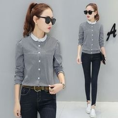 Ekim - Pinstriped Blouse