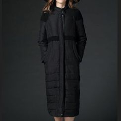 Mythmax - Panel Padded Midi Coat