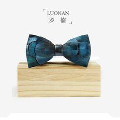 Luonan - 羽毛蝴蝶領帶