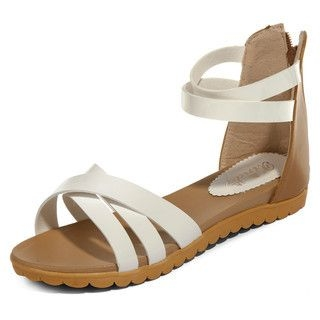 yeswalker - Strappy Ankle Cuff Sandals