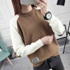 anzoveve - Two-Tone Sweater
