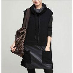 Raisin - Hooded Vest