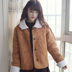 Clair Fashion - Fleece-Lined Jacket